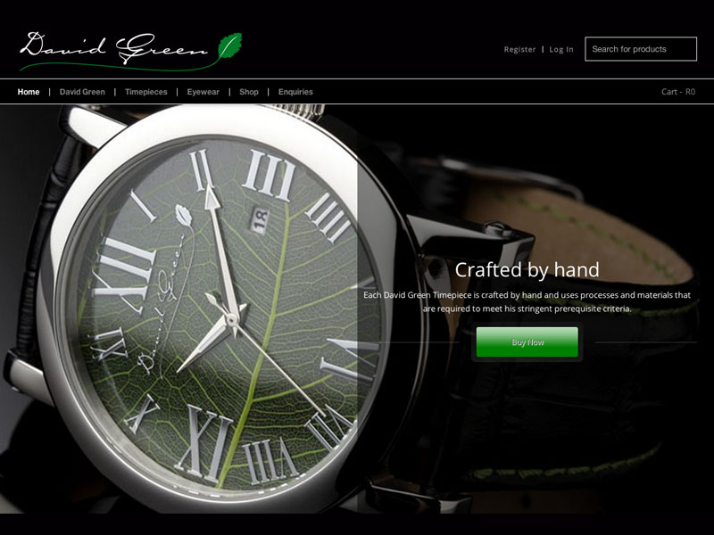 560b76ebbd David Green Timepieces - Creative Services